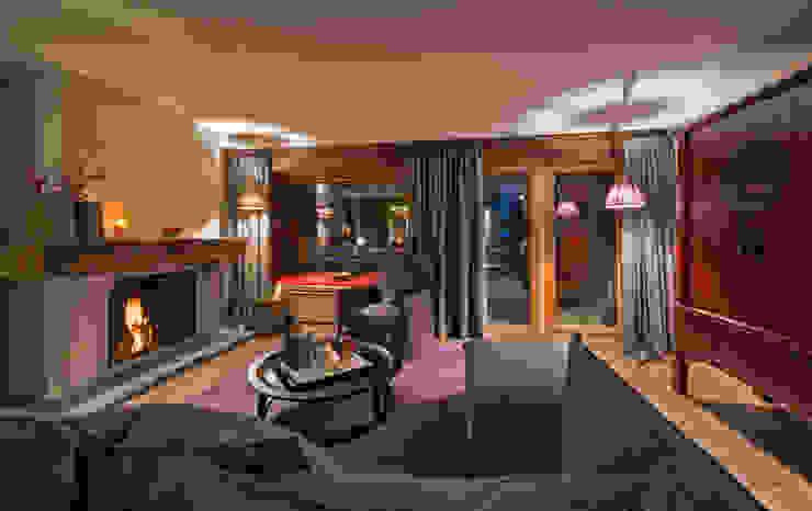 Cordée des Alpes Moderne Hotels von Bollinger + Fehlig Architekten BDA Modern