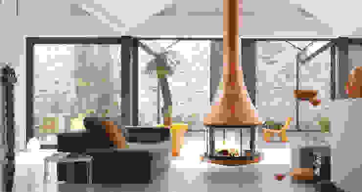 Cheminée Zelia 908 color par GROUPE SEGUIN DUTERIEZ Moderne