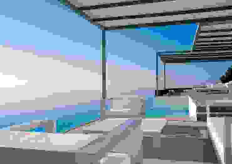 Balcon, Veranda & Terrasse modernes par Ramón Esteve Estudio Moderne