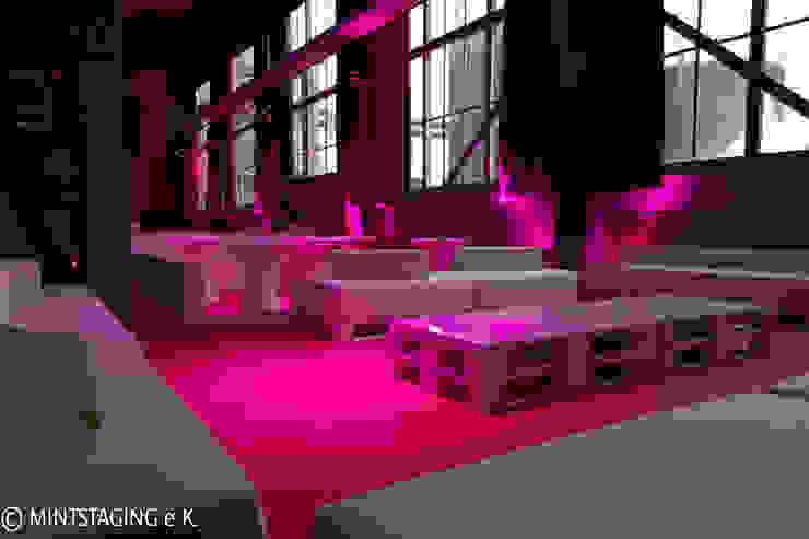 Event im Kesselhaus München von MINTSTAGING e.K. Agentur für Interior Design & Raumkonzepte