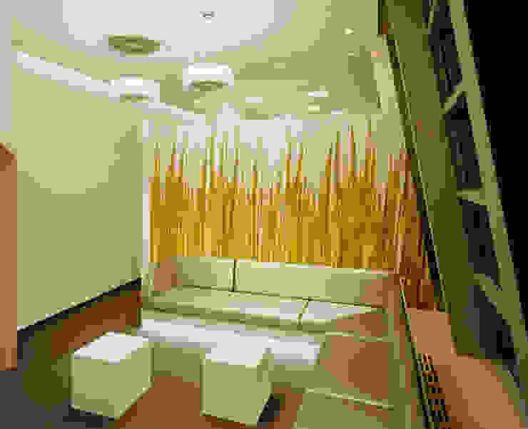 Raumteiler Schichtstoff mit Digitaldruck Moderne Bürogebäude von Tischlerei & Objektdesign Friedrich Gilhaus GmbH Modern