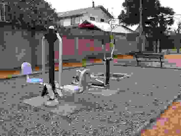 Elementos Saludables de BENITO URBAN en Chile Gimnasios domésticos de estilo moderno de BENITO URBAN SLU Moderno