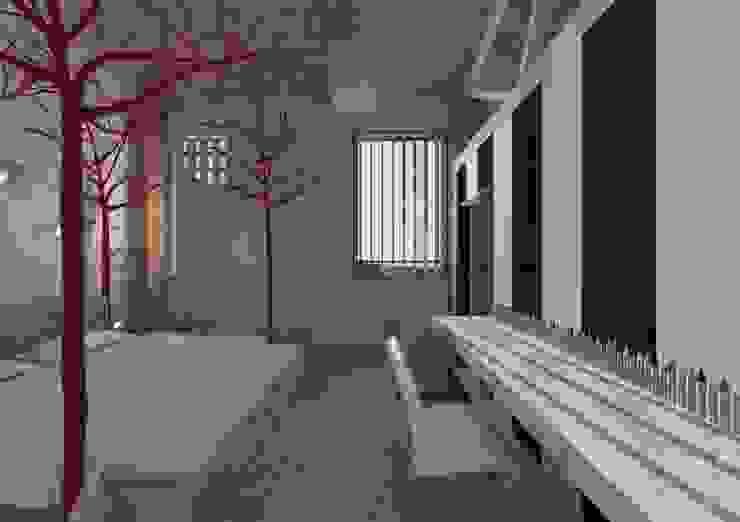 Rehabilitación del complejo terciario El Pantano en La grajera, La Rioja Casas de THINKING OF COLORS