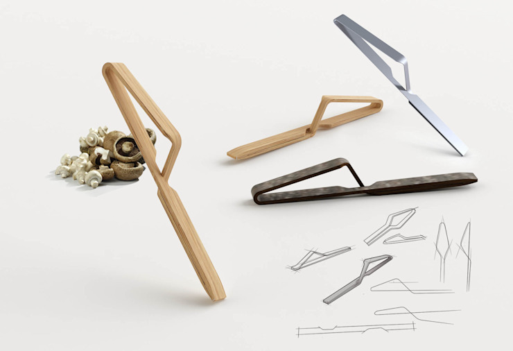 Kitchen Tweezers de CARRASCOBARCELO design studio Mediterráneo