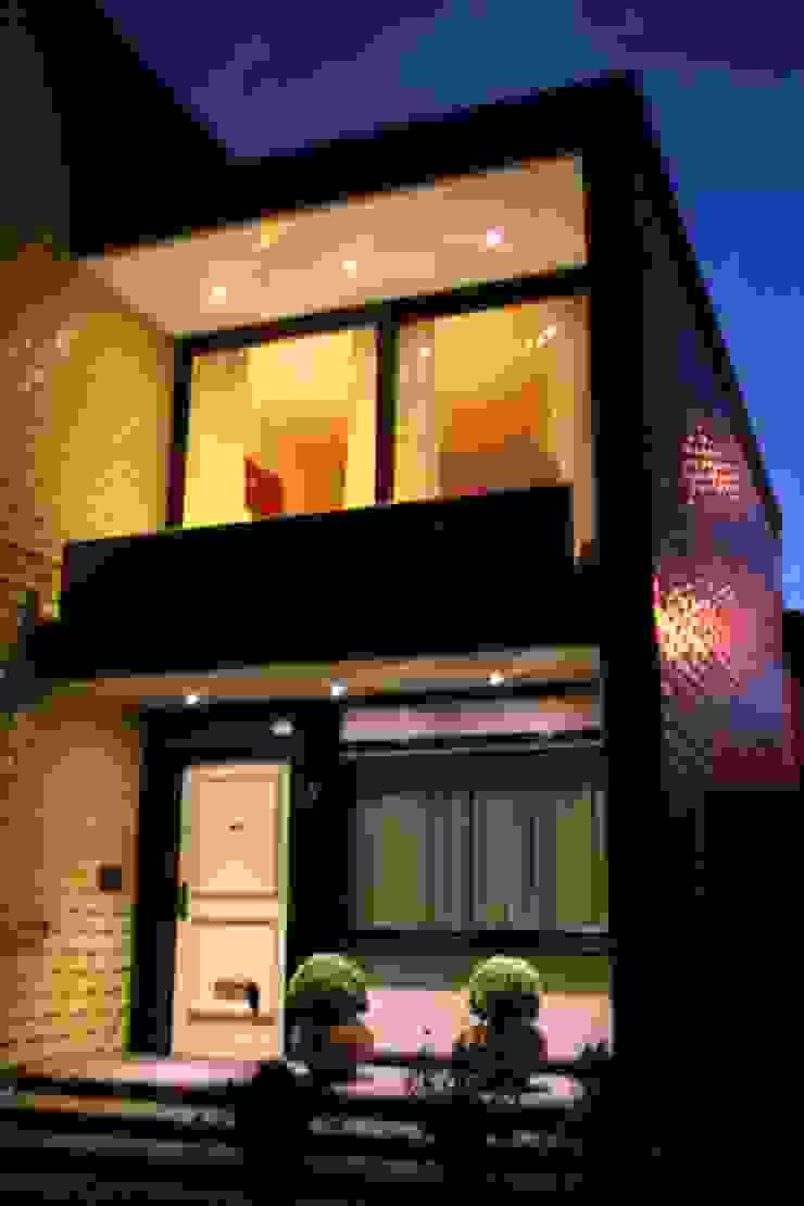 Außenansicht Balkonbespannung Moderne Häuser von Mettner Raumdesign Modern