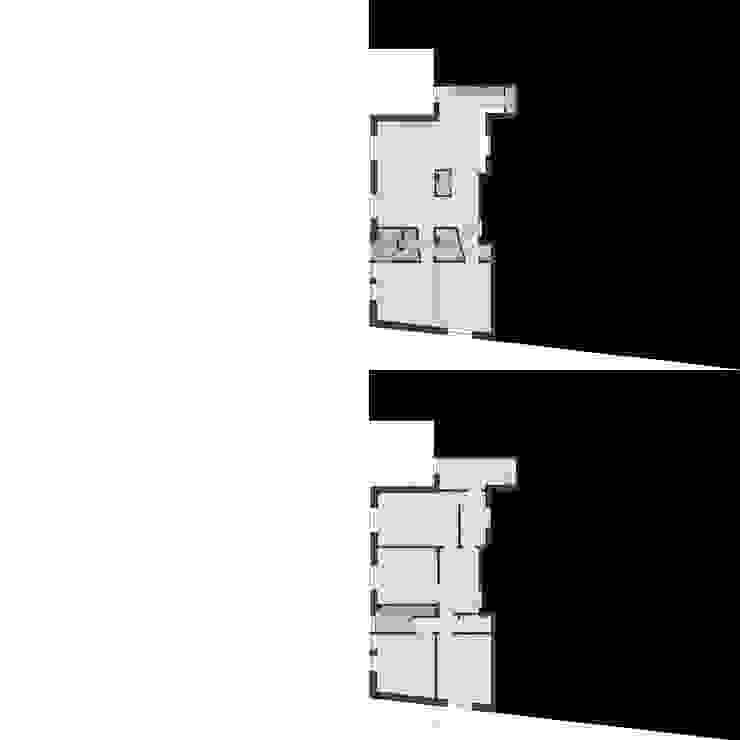 CASA GUGLIELMA di DELISABATINI architetti Minimalista