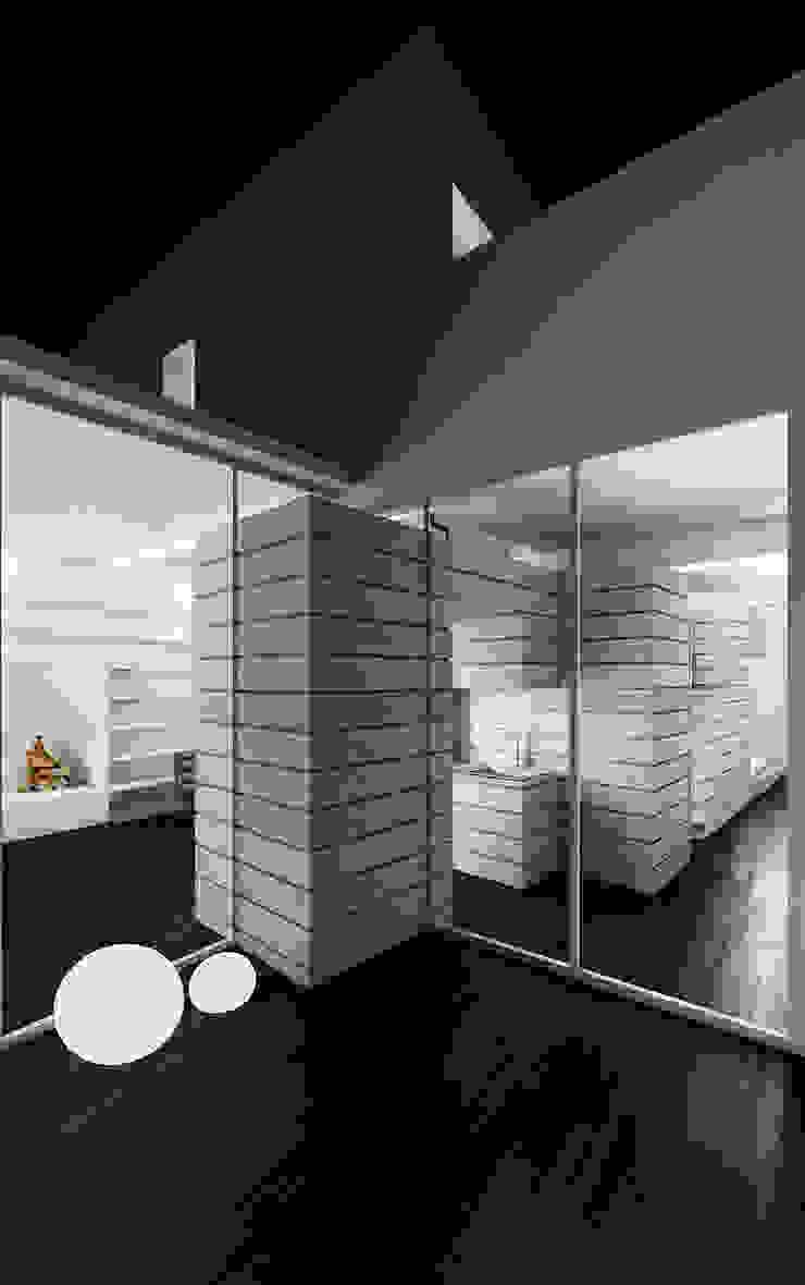 CASA DEL FILOSOFO Balcone, Veranda & Terrazza in stile minimalista di DELISABATINI architetti Minimalista