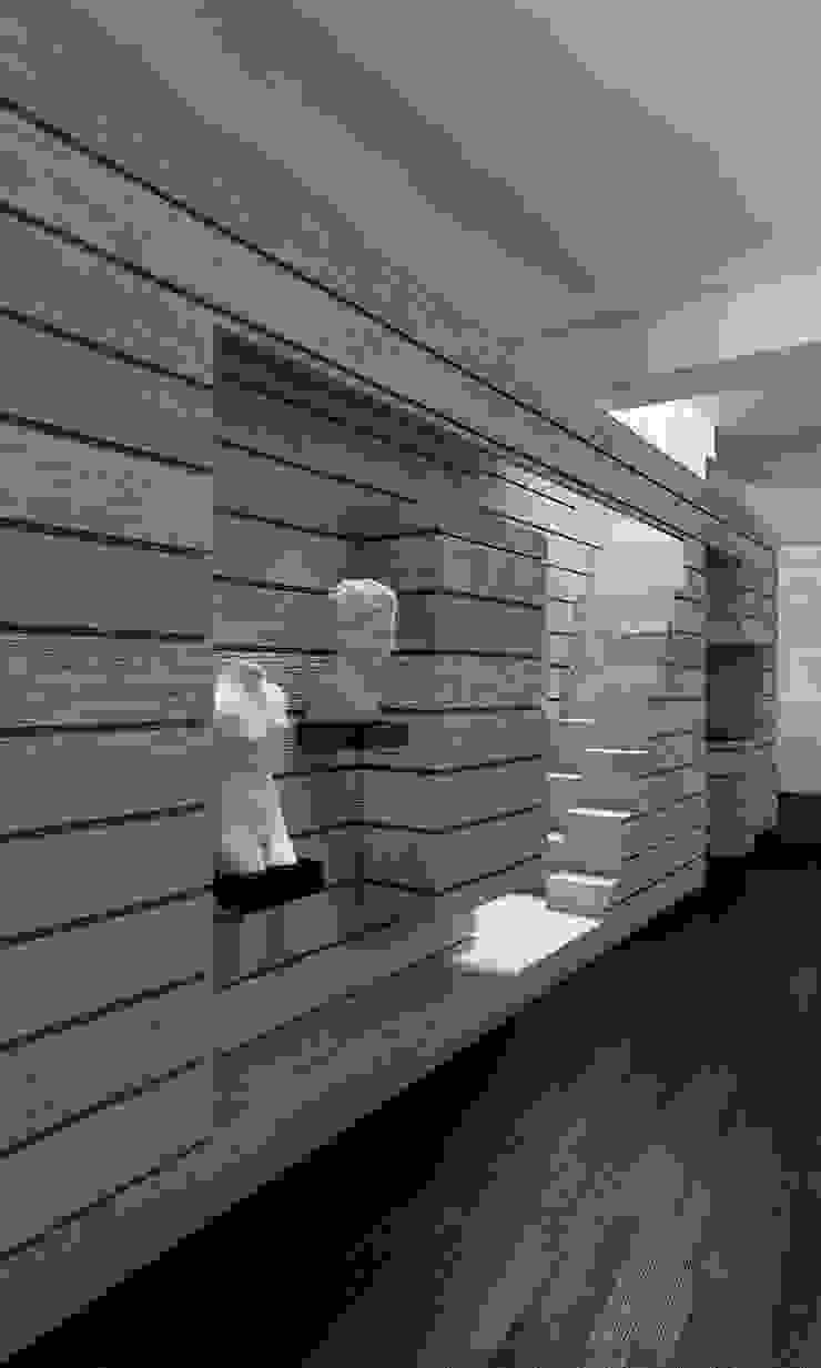 CASA DEL FILOSOFO Ingresso, Corridoio & Scale in stile minimalista di DELISABATINI architetti Minimalista