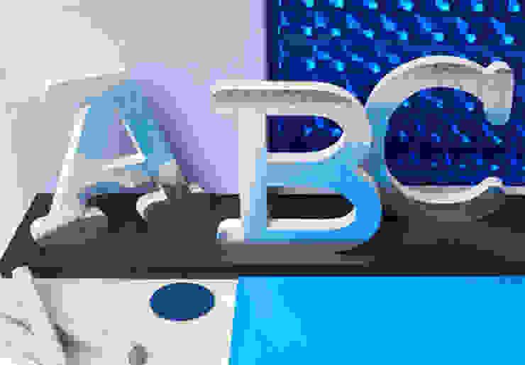 Dekobuchstaben - 15 cm Buchstabenhöhe - Eisblume von K&L Wall Art Ausgefallen