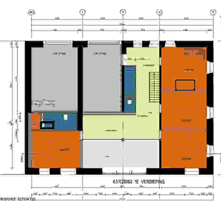 LANDHUIS HENUMONT – BELGISCHE ARDENNEN van D. M. Alferink architect Landelijk