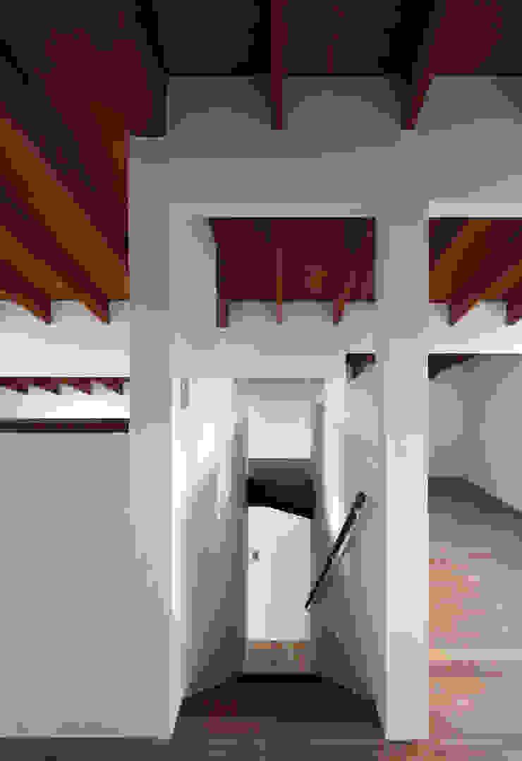 信楽の住宅 モダンスタイルの 玄関&廊下&階段 の 加藤淳一建築設計事務所/JUNICHI KATO & ASSOCIATES モダン