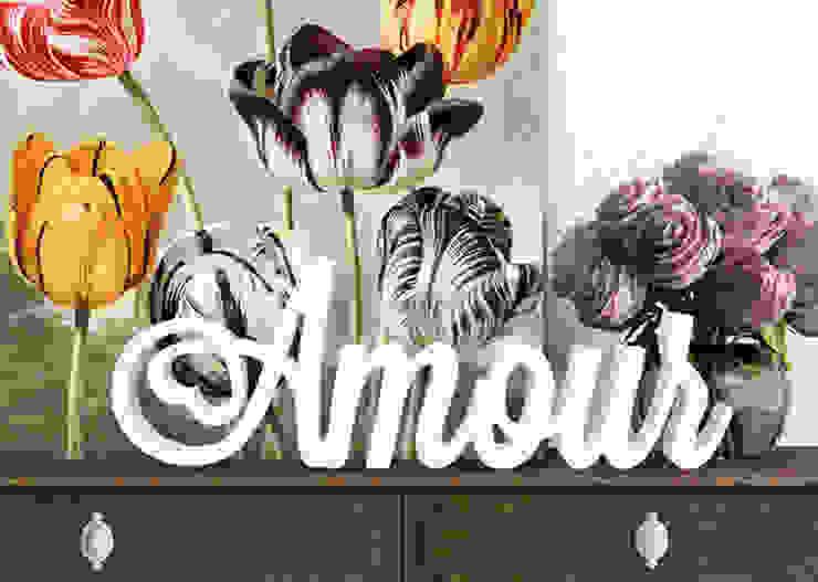 Dekobuchstaben - 3D Amour von K&L Wall Art Ausgefallen