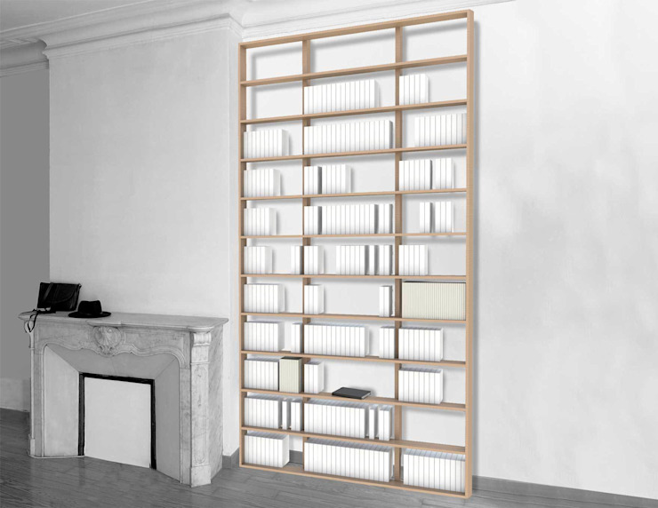 Bibliothèque Wallbooks par MALHERBE EDITION Moderne