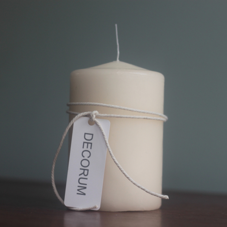 Pillar Candle: eclectic  by Decorum, Eclectic