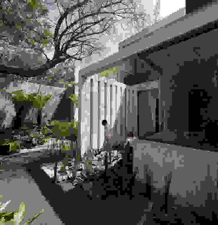 Casa Maruma Balcones y terrazas de estilo moderno de © Sandra Pereznieto Moderno