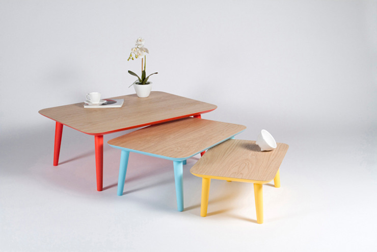 Muka Design Lab Living roomSide tables & trays