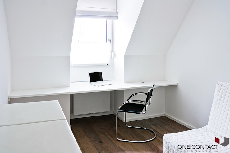 Modern study/office by ONE!CONTACT - Planungsbüro GmbH Modern
