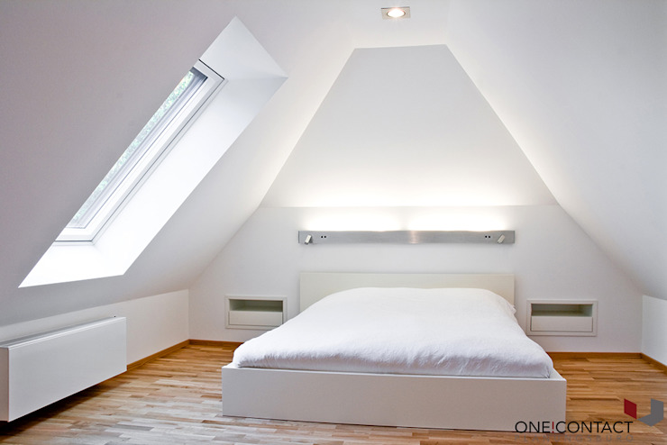 Bedroom by ONE!CONTACT - Planungsbüro GmbH, Modern