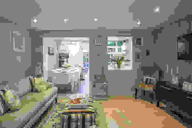 Living room—Canary Wharf Modern living room by Millennium Interior Designers Modern