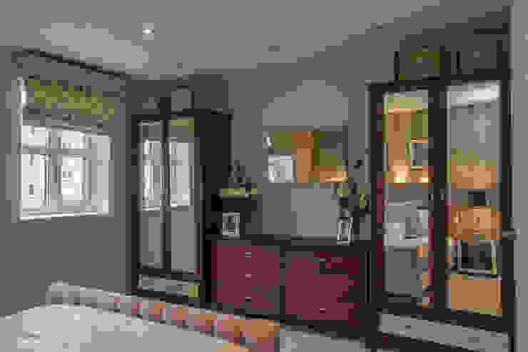 Bedroom _ Canary Wharf Millennium Interior Designers Classic style bedroom