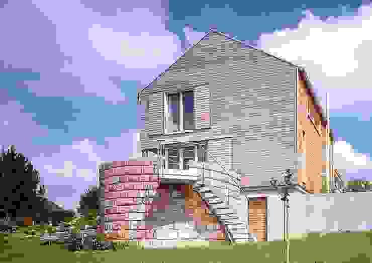 Einfamilien Wohnhaus in Holzständerkonstruktion Jarcke Architekten Moderne Häuser