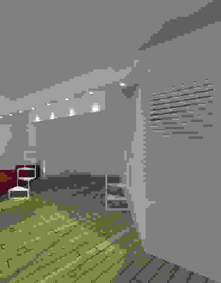 LOFT Ingresso, Corridoio & Scale in stile minimalista di DELISABATINI architetti Minimalista