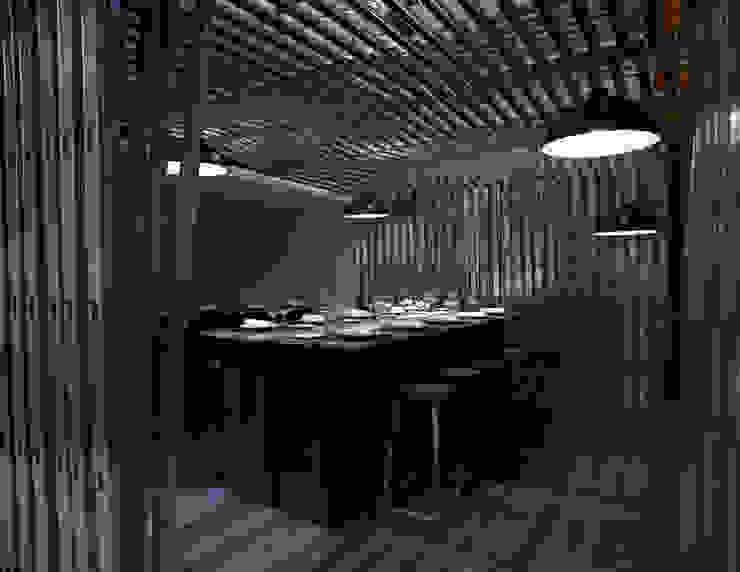 Reservado Sala VIP ARCOmadrid 2013 Comedores de estilo industrial de Q:NØ Arquitectos Industrial