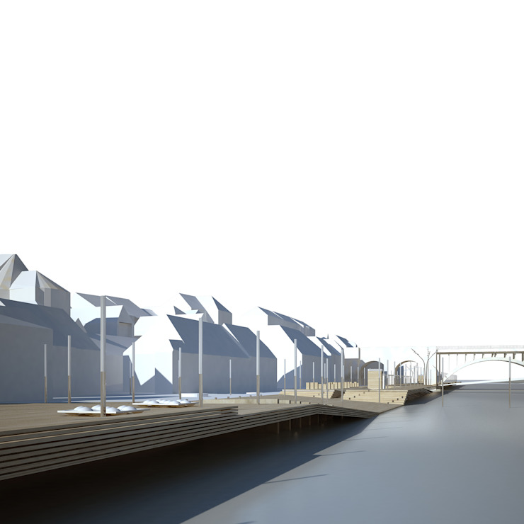 MARIBOR – EPK 2012 – EMBANKMENT OF THE RIVER DRAVA di DELISABATINI architetti