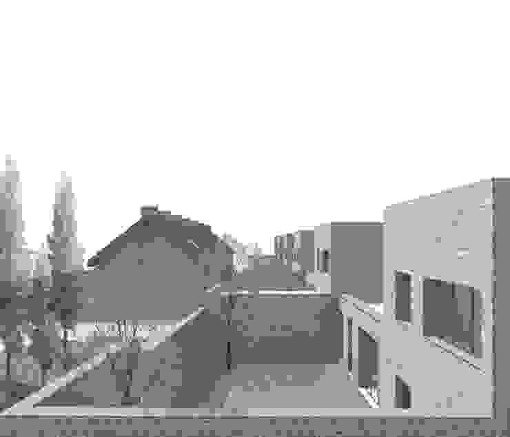 CHARLEROI – CONCOURS DE PROJET POUR 15 LOGEMENTS DURABLES di DELISABATINI architetti