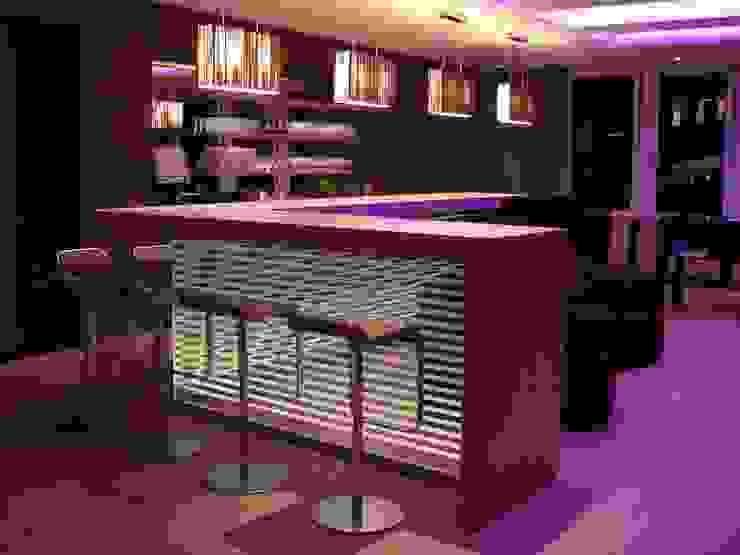 Office Lounge Moderne Geschäftsräume & Stores von list lichtdesign - Lichtforum e.V. Modern