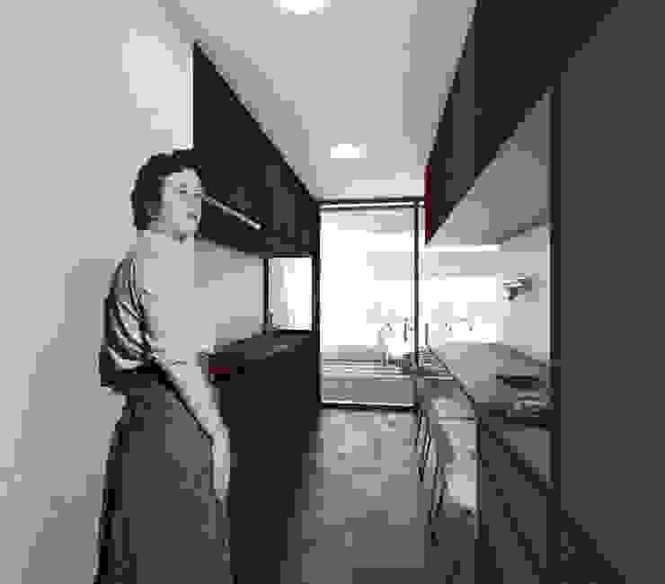 Cocina VPO (VMEJÓ) Q:NØ Arquitectos Cocinas de estilo mediterráneo