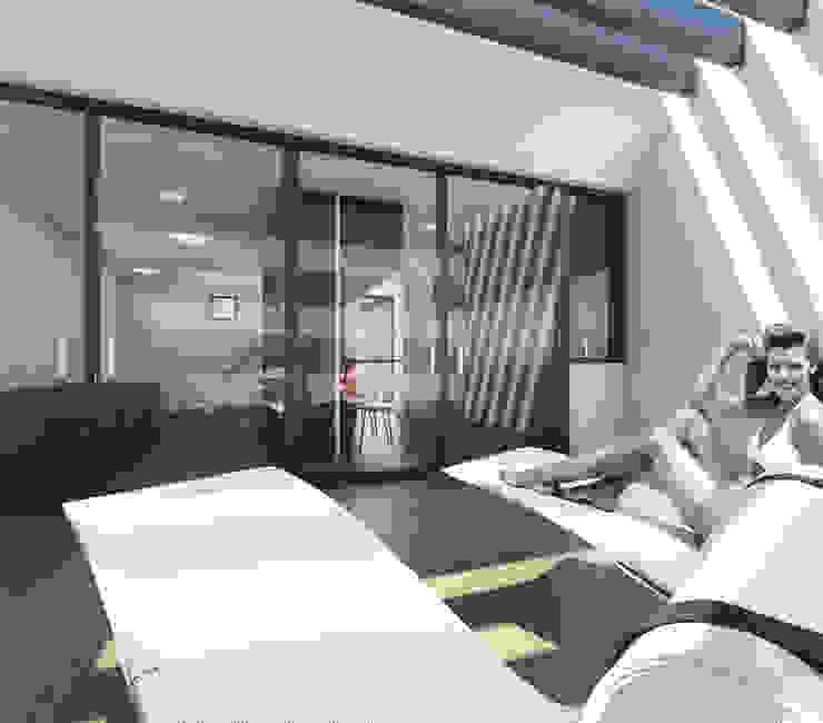Akdeniz Balkon, Veranda & Teras Q:NØ Arquitectos Akdeniz