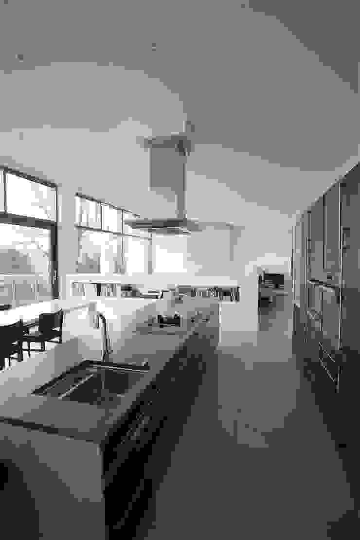 Wenge & Ferrara Oak Kitchen par Arlington Interiors Moderne