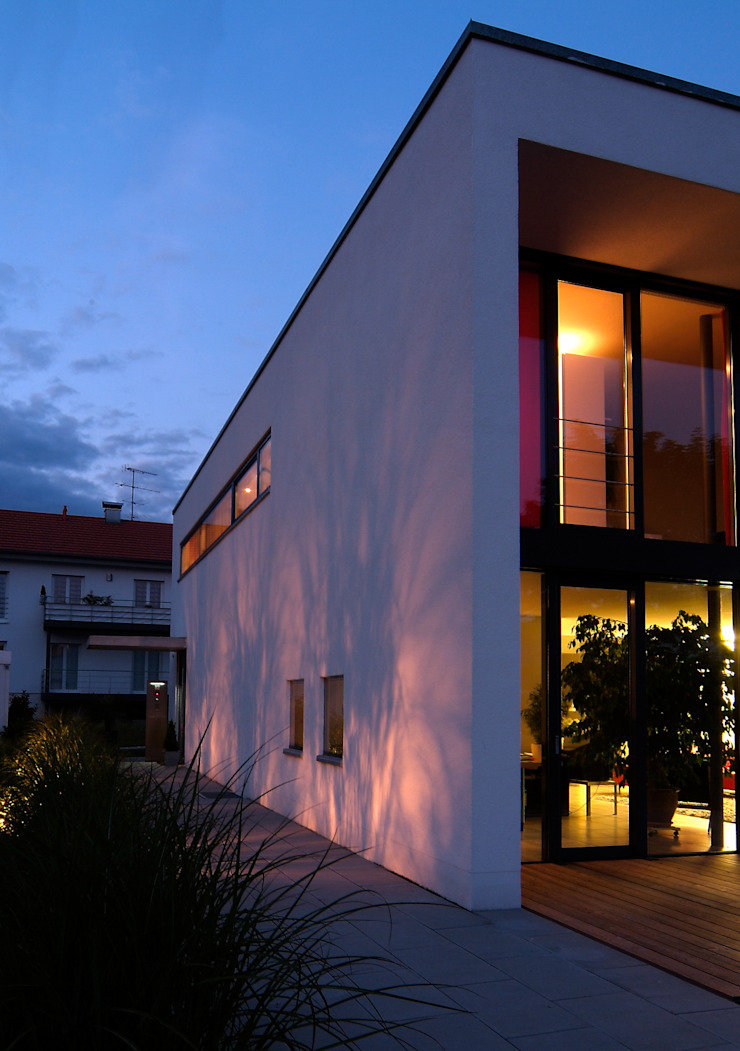 Haus Lenz in Überlingen Moderne Häuser von A r c h i t e k t i n Kelbing Modern