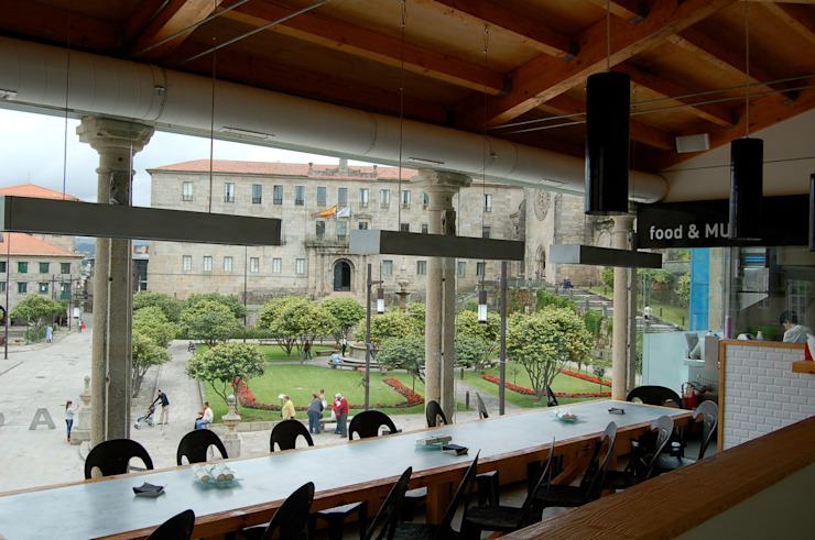 Savoy Gastronomía de estilo moderno de LabMatic Estudio Moderno