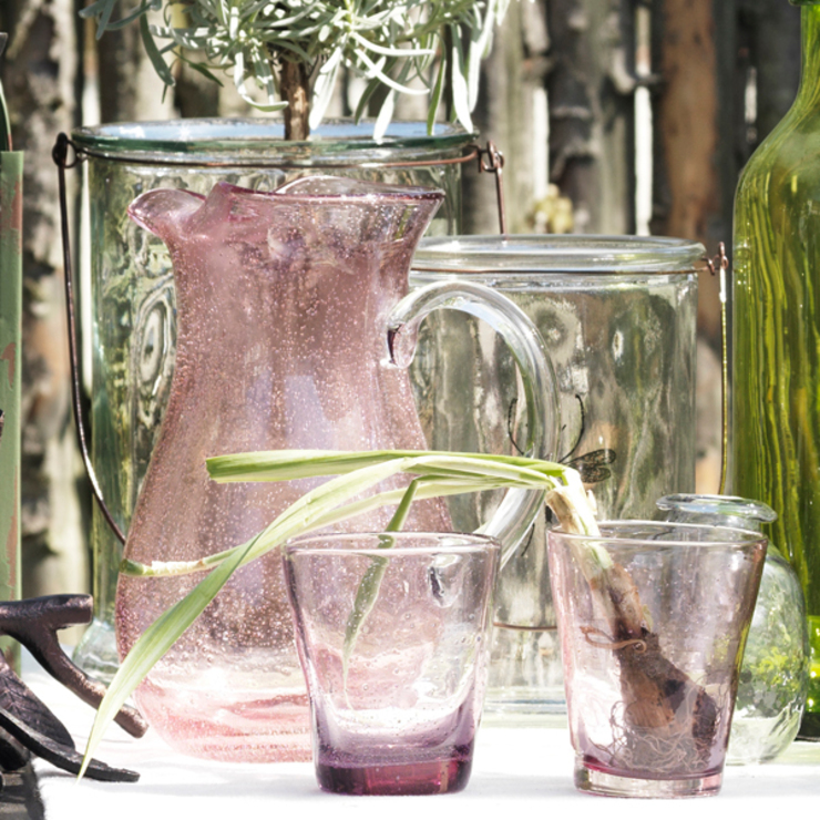 Rosa jug and glasses di Decorum Moderno