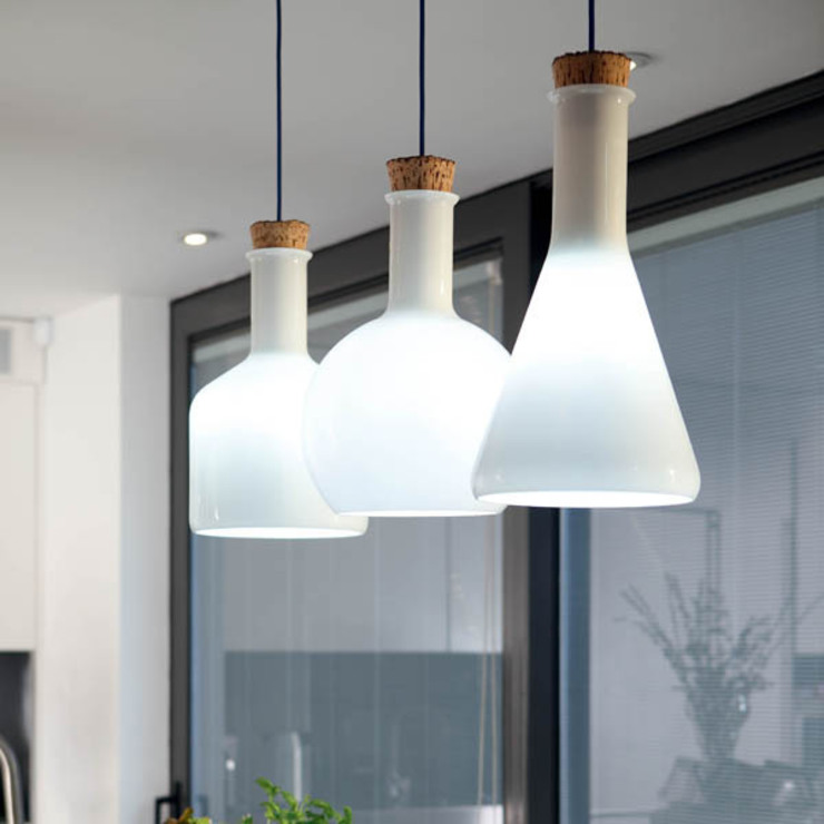 homify KitchenLighting