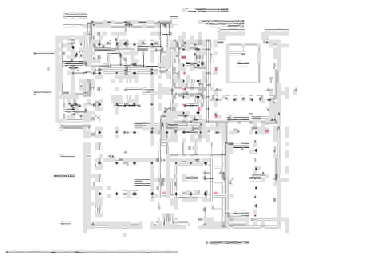 Ristrutturazione appartamento per un fotografo Case moderne di Studio RBA Moderno
