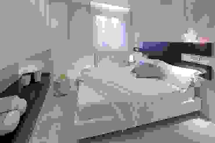 Appartamento MF Camera da letto moderna di Studio di Architettura SIMONE GIORGETTI Moderno