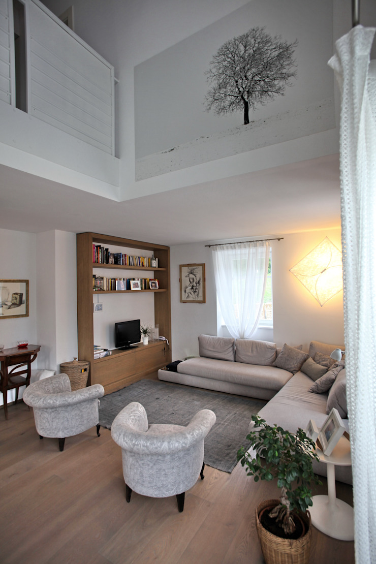 il salotto Soggiorno moderno di luca pedrotti architetto Moderno