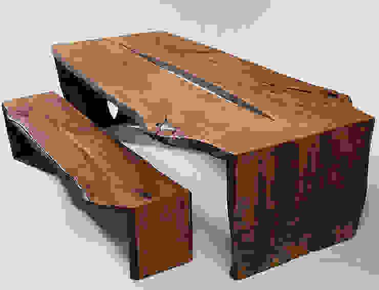 Antikes Holz Moderne Esszimmer von Hanssen+Eltermann Modern
