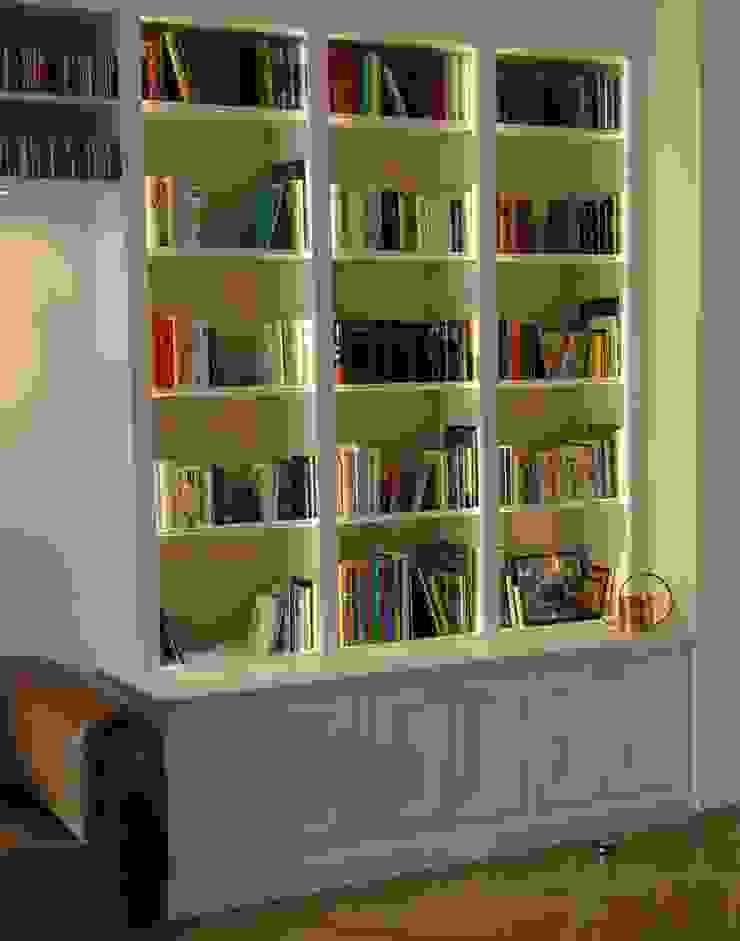 klassische Bibliothek Klassische Wohnzimmer von Bernhard Preis - Interior Design aus der Region Tegernsee Klassisch