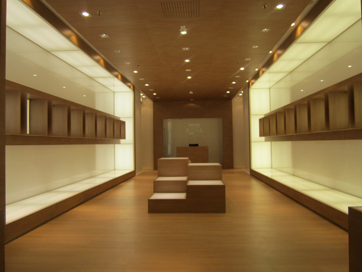 Ernesto Fusco Office spaces & stores Engineered Wood Wood effect