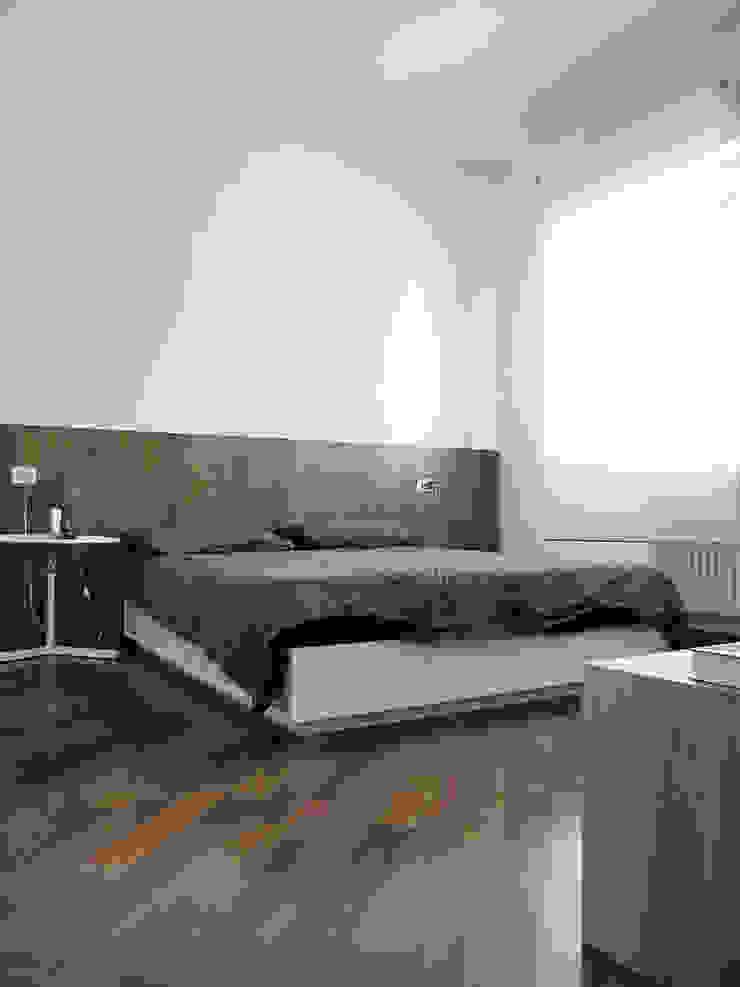 Habitaciones modernas de Nuovostudio Architettura e Territorio Moderno