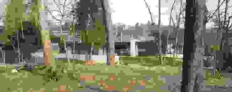 War House Jardin moderne par Allegre + Bonandrini architectes DPLG Moderne