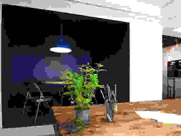 Gastronomi Gaya Industrial Oleh Allegre + Bonandrini architectes DPLG Industrial