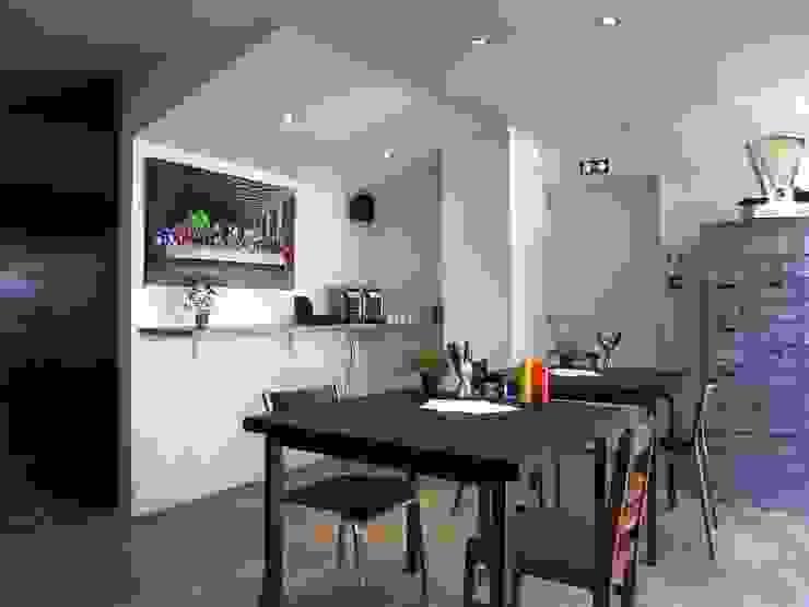 Industriale Gastronomie von Allegre + Bonandrini architectes DPLG Industrial