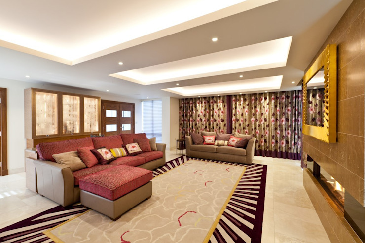 Lancashire Residence Eclectic style living room by Kettle Design Eclectic