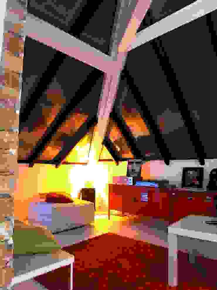 Allegre + Bonandrini architectes DPLG Ruang Keluarga Modern