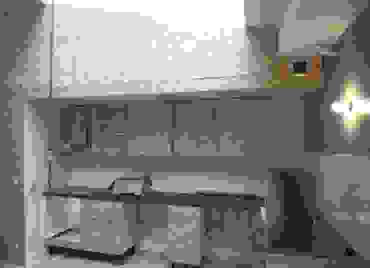 Industrial style kitchen by Allegre + Bonandrini architectes DPLG Industrial